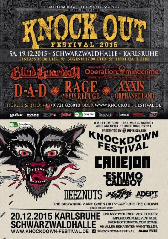 Knock Out festival et Knockdown festival