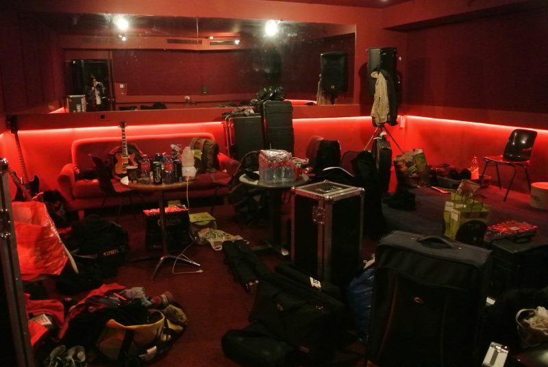 Des backstages rangés, ça n'existe pas!